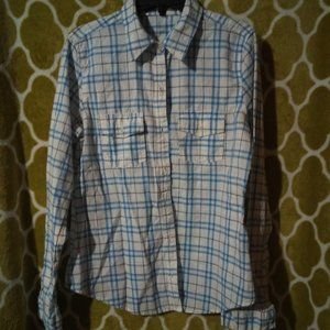 Love Stitch Long Sleeve Button Up